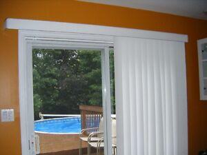 Store vertical pour porte patio