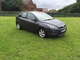 One month warranty Ford Focus zetec 1.6 petrol automatic reg 2008 milage 76,000