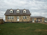 30 Acres with home