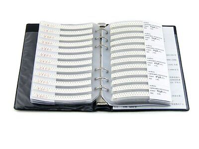 0603 Smd Capacitor 90 Values 4500pcs Sample Book Assortment Kit