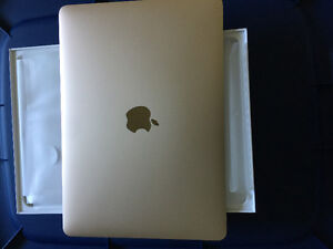 Apple Macbook Reinta Display - GOLD 12 inch - 8GB Ram / 256GB HD