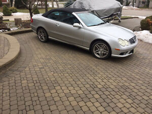 Yes, it is a Convertible !  Mercedes-Benz CLK 500