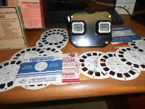 Vintage Viewmaster with Slides