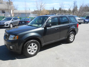 2009 MAZDA TRIBUTE 5 DOOR  SUV, ONE YEAR WARRANTY INCLUDED