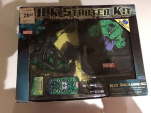 PS2 controller hulk set