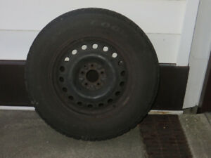4 Goodyear Nordic Tires with Rims