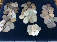 Pièces de monnaie en argent 15$, nous achetons or et argent