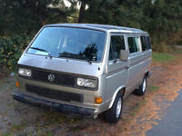 VW Vanagon Tin Top with New Engine and Westfalia kit