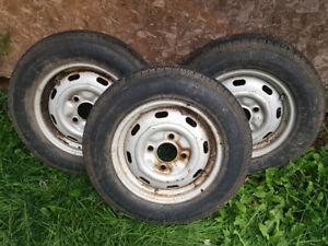 94 honda civic tires and rims (3)