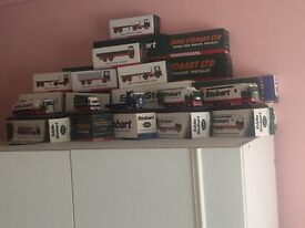 Genuine Eddie Stobart model trucks