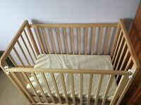 Saplings space saver cot and superior foam mattress