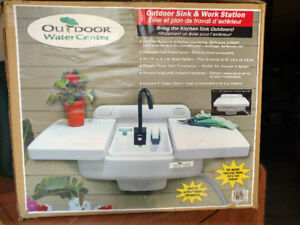 NEW Outdoor Water Center