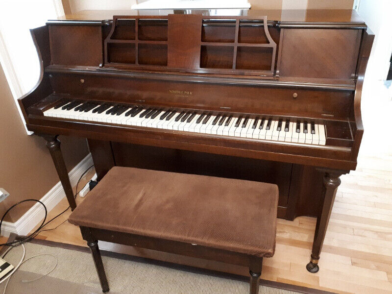 Nordheimer Studio upright piano with lovely bass sound ...