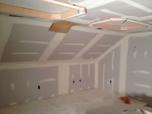 Tape and drywall and repairs complete, free estimates Cambridge Kitchener Area image 3