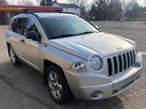 159 km 2008 Jeep  compass 4X4  Limited  leather Sunroof