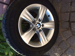 Used Continental Run Flat Snow Tires