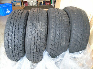 4 15inch Snow Tires