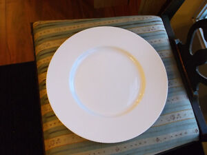 Large Bone China Serving Plate