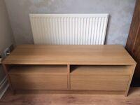 IKEA TV Unit/Bench/Cabinet Oak Veneer