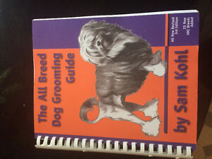 Dog grooming book