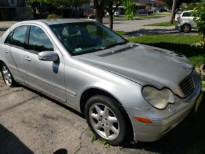 """2002 Mercedez C320 for sale """"AS IS"""""""