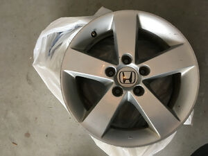 4 Honda Civic Wheel Silver