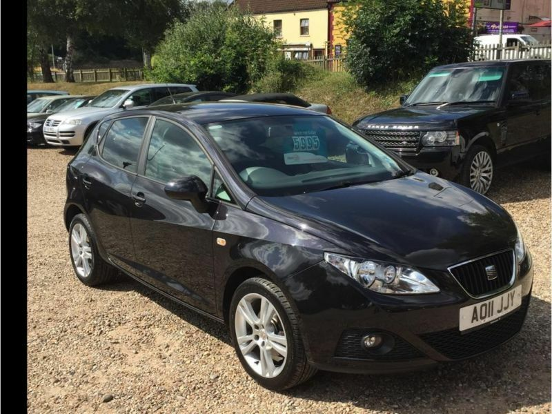 2011 seat ibiza 1 4 16v se chill 5dr in norwich norfolk. Black Bedroom Furniture Sets. Home Design Ideas