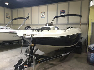 2017 Stingray 192SC Side Console W.150HP 4S Mercury