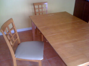Solid Wood Dining Table!  Great Price!