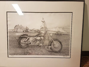Harley Davison collectables. For sale