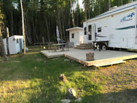 Trailer On Leased Lot-  Nobles Point, Candle Lake