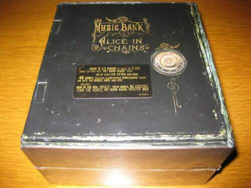 Alice In Chains - Music Bank Box Set NUOVO...