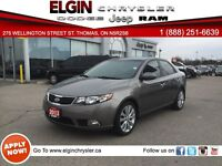 2013 Kia Forte 2.4L SX***Leather, Sunroof,Low Kms***