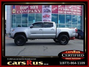 2016 Toyota Tacoma TRD Sport Six Speed Manual Off-Road Package!!