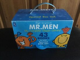 MR MEN 43 BOOK SPECIAL BOX SET - NEW
