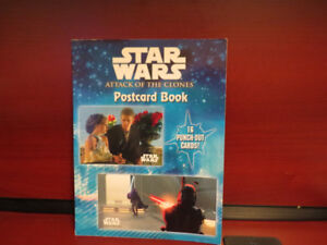 Star Wars Attack of the Clones Poster book