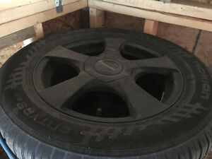 Summer tires and rims from 2012 Chevy Cruze