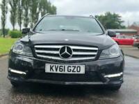 2011 Mercedes-Benz C-CLASS 2.1 C200 CDI BLUEEFFICIENCY SPORT 5d 135 BHP Auto Est