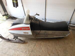 1975 Yamaha 433 and 338 GPX