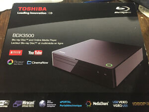Brand New Toshiba Blu-ray Player