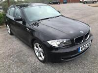 2010 10 Black BMW 118 ES 2.0TD Automatic