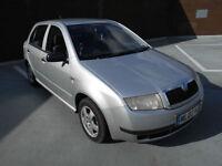(02) 2002 Skoda Fabia 1.4 Ltd Edn Silverline 1 YEARS MOT