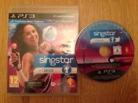 PS3 Singstar & PS3 microphones used but in excellent condition