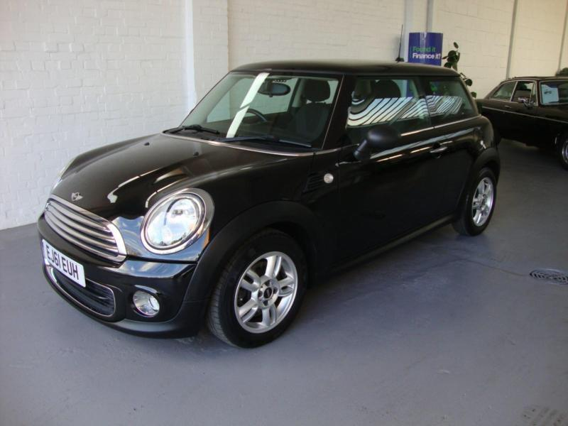 Mini Mini 1.6 ( Pepper ) One, 6-Spd, 2011 61, Black, 38000 Miles FSH