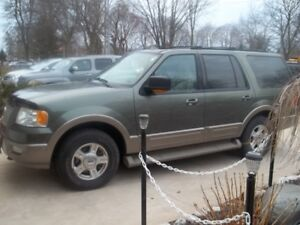 2004 Ford Expedition Eddie Bauer Limited SUV, Crossover