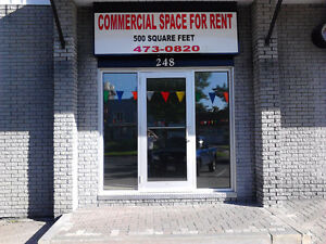 DOWNTOWN GRAND FALLS STORE OR OFFICE SPACE