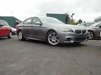 BMW 5 SERIES 2.0 520d M Sport 4dr (grey) 2012