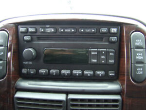 Radio with 6 CD player for 2005 Ford Explorer  . See Picture