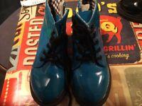 Kids blue boots size 29