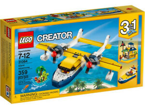 LEGO Creator Island Adventures 3 in 1 Brick Set 31064 NEW!